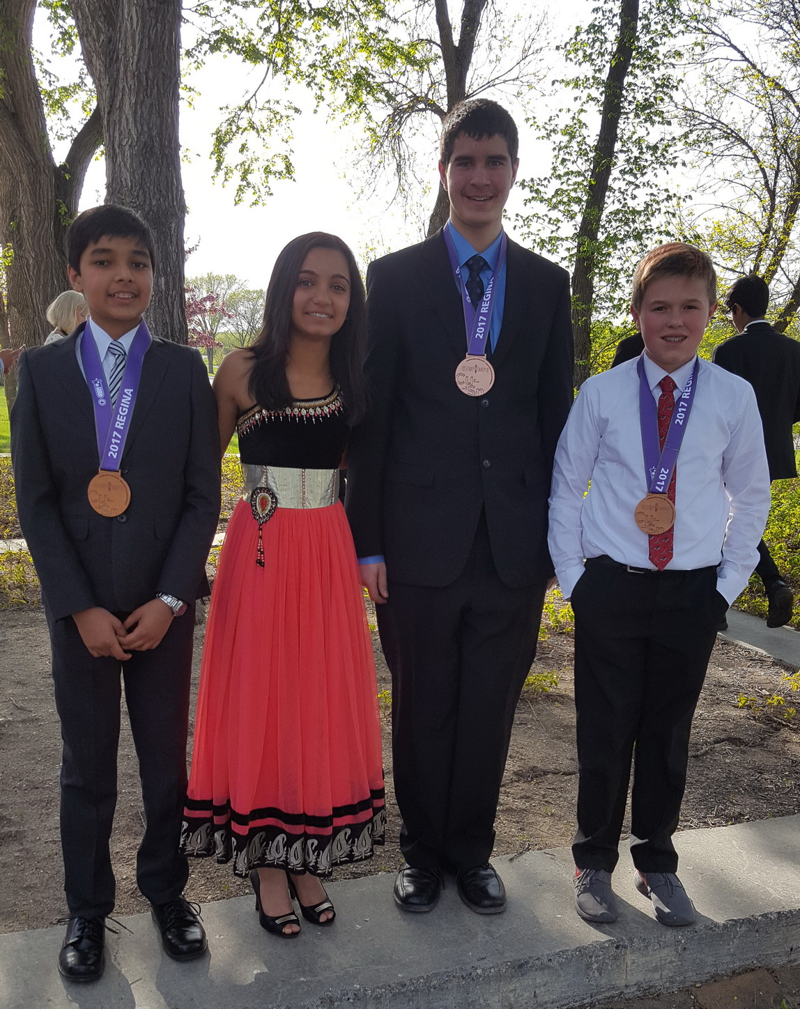 Rideau St-Lawrence Finalists Bring Home Medals from 2017 CWSF Regina