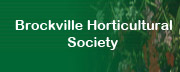 Brockville and District Horticultural Society