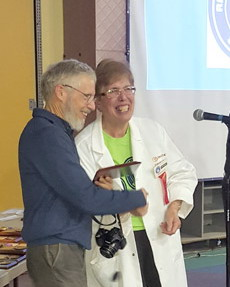 John Waddington Receives Youth Science Canada Distinguished Service Award