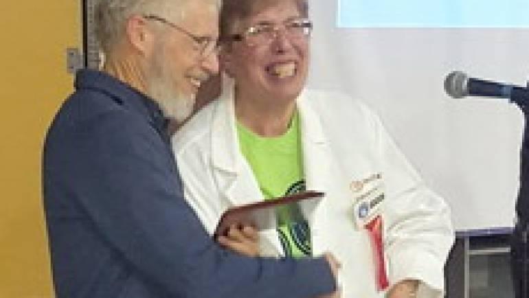 John Waddington Receives Youth Science Canada Distinguished Service Award