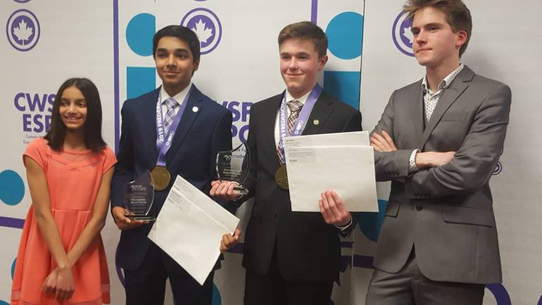 Team RSLSF Wins Gold and More at CWSF 2019 in Fredericton